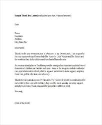 Sample Of A Thank You Letter Free 74 Thank You Letter Examples In Doc Pdf Examples