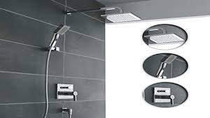modern shower faucets