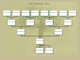 powerpoint family tree template adoptive family tree template ancestry talks with paul crooks