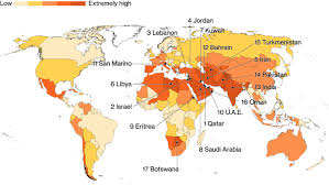 These Countries Are The Most At Risk From A Water Crisis