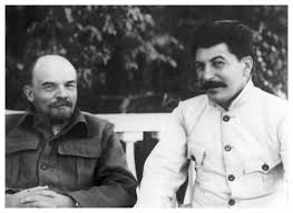 lenin and stalin communist russia