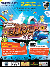 49 Summer Camp Flyer Templates Psd Eps Indesign Word Free