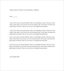 Thank You Note Examples 9 Sample Thank You Notes Free Sample Example Format Download