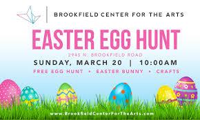 Brookfield Center For The Artsbrookfield 2016 Easter Egg Hunt