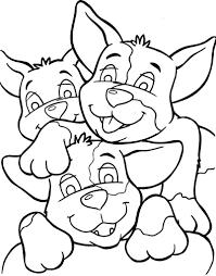 Kleurplaten Schattige Honden Puppies Voor Volwassenen Kids N Fun De
