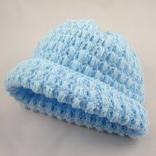 Baby Beanie Crochet Pattern Interesting Caleb's Puff Stitch Baby Hat A Free Pattern Listed In The Library