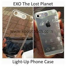 EXO THE LOST PLANET LIGHT UP IPHONE 5 5S PHONE CASE KPOP K POP
