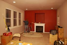 What Color To Paint Small Room Interior For Living Home Designs - Dining room red paint ideas