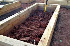 raised bed gardening best soil recipe