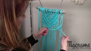 diy macrame tutorial beginner wall hanging diamond with crafty ginger you