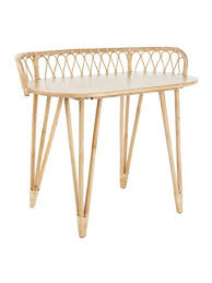 rattan console table. KOUBOO 1110084 Loop Rattan Console Table