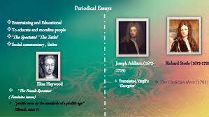 th century literature an overview 14 periodical essays joseph addison
