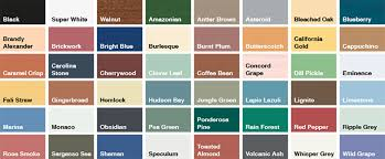 Superdec Colour Chart Sadolin Superdec Satin Opaque Wood Protection Wood Stain
