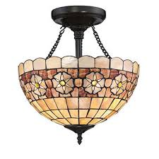 china new antique tiffany chandeliers mosaic glass lamp stained glass ceiling light