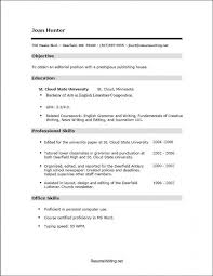 How To Write A Resume With No Job Experience Fascinating Sample Resume For College Student With No Job Experience Fieltronet