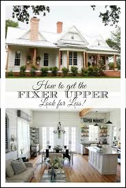 getting the fixer upper look for less easy sources for farmhouse decor