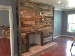 reclaimed wood fireplace surround careydesign