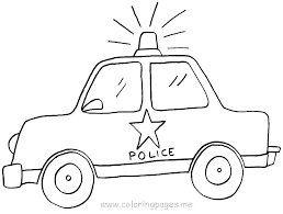 Police Cars Coloring Pages Police Car Coloring Pages At Free