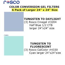 Rosco Cinegel Color Correction