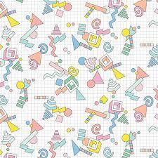Geekometric 80s Retro Geometric Math Shapes 3d Geek Nerd Graph
