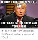 call if no hear