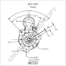 Ms1 305p front dim drawing
