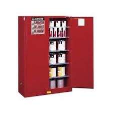 justrite 896000 yellow flammable safety cabinet storage 60 gallon