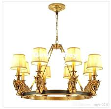 free copper pendant lamp brass hanging light candle chandelier suspension lighting stylish lamps chennai