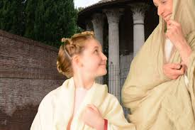 Ancient Roman Hair Style hairstyle of a young roman girl 40s bc youtube 3407 by wearticles.com