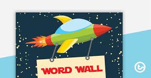 e word wall voary