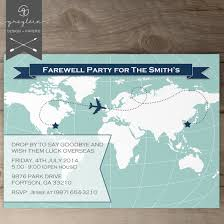 Free Going Away Party Invitations Free Going Away Party Invitation Templates