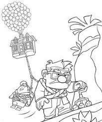 Small Picture coloring book of disney characters Up coloring pages and