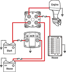battery management wiring schematics for typical applications wiring a boat from scratch at Boat Wiring For Dummies