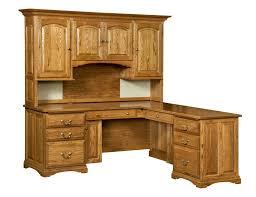 mannington l desk hutch front