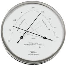 hair hygrometer. manual available online. hair hygrometer