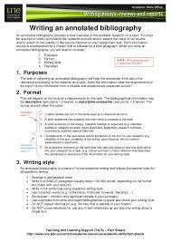 Writing an Annotated Bibliography SP ZOZ   ukowo