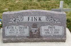 Paul Fink (1922-1996) - Find A Grave Memorial