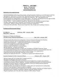 C Level Executive Resume