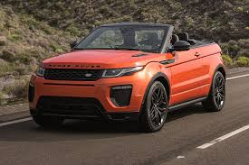 Range Rover Evoque Convertible Business Lease