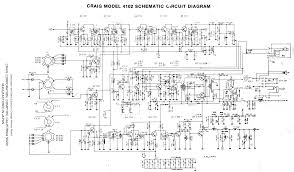 craig 4101 4102 craig 4102 schematic diagram