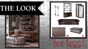 rustic look furniture. The Look For Less! Rustic Glam Living Room, Homemakers Furniture, Living  Room, Rustic Look Furniture