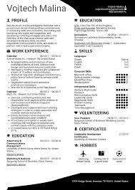 Resume Templates For Publisher Resume Examples By Real People Publisher Resume Template