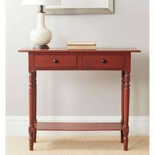 entrance tables furniture. Rosemary Red Storage Console Table Entrance Tables Furniture