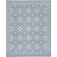 artisan silver blue 8 ft x 10 ft area rug