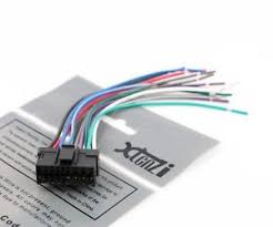 xtenzi radio wire harness for sony xav 63,xav 64bt,xav 601,xav712 Sony Radio Wiring Harness image is loading xtenzi radio wire harness for sony xav 63 sony radio wiring harness