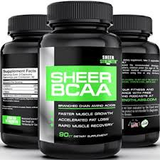 sheer bcaa capsules 1 best branched chain amino acids post workout supplement builds muscle