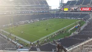 seat view for lincoln financial field section c15