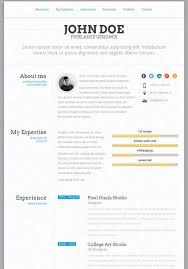 PerfectCV - Responsive, Bootstrap CV / Resume
