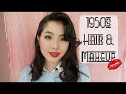 1950s makeup hair tutorial thetwinsofhearts