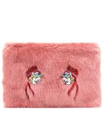 shrimps bonnie faux fur clutch spanish pink women shrimps faux fur coat shrimps faux fur scarf largest fashion